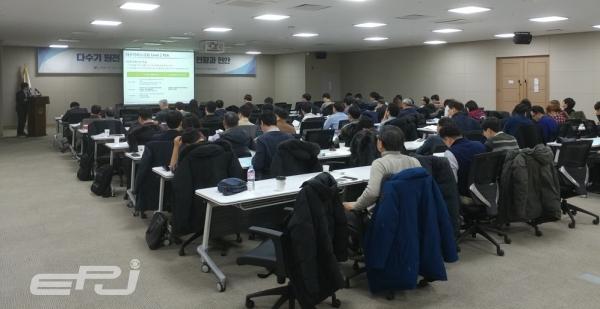 원자력연구원 리스크·환경안전연구부는 12월 12일 정부세종컨벤션센터에서 원자력학회 원자력안전연구부회와 함께 '다수기 원전 리스크 평가기술 개발:현황과 현안'을 주제로 기술 워크숍을 개최했다.