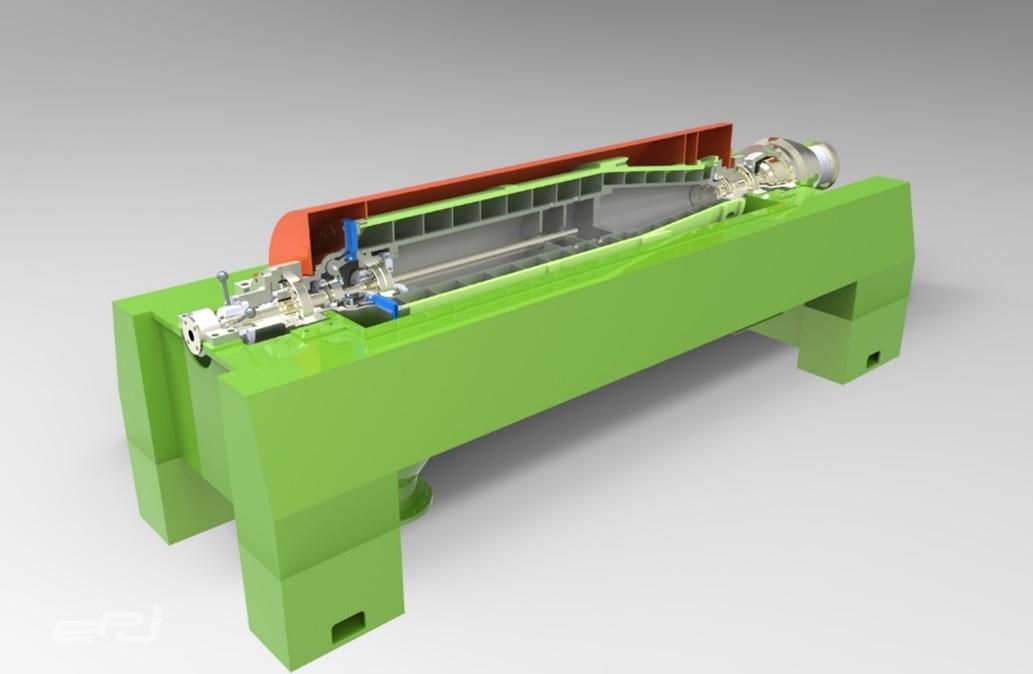 비와이인더스트리가 특허출원한 스크류 데칸트형 원심분리기